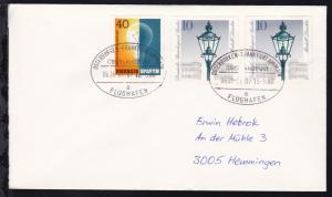 OSTERBURKEN-FRANKFURT AM MAIN FLUGHAFEN ÜBERLANDPOST a 0696-01/07 13.5.80