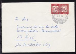 DEUTSCHE SCHIFFSPOST TRAVEMÜNDE-TRELLEBORG-LINIE MS NILS HOLGERSSON 8.7.65