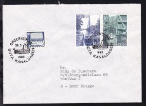 SÖDERKÖPING GÖTA KANALDAGEN 28.5.1985 auf Brief