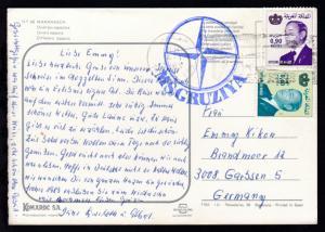 K1 MS GRUZIYA auf CAK (Marrakech) ab Tanger 4.1.1983 nach Garbsen