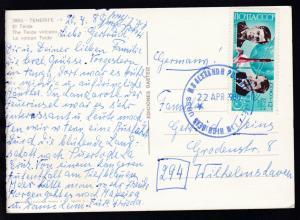 URSS MS ALEXANDR PUSHKIN POSTED FROM HIGH SEAS 22 APR 1980 auf CAK