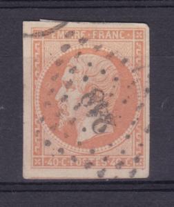 Kaiser Napoléon III. ohne Lorbeerkranz 40 C.