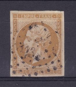 Kaiser Napoléon III. ohne Lorbeerkranz 10 C.