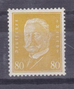 Reichspräsidenten 80 Pfg., Zahnfehler, **