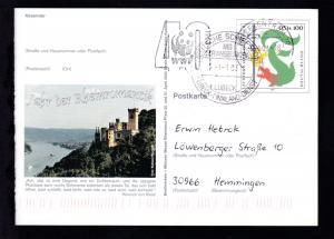 DEUTSCHE SCHIFFSPOST MS TRANSEUROPA LÜBECK LÜBECK-FINNLAND-DIENST 1.1.03