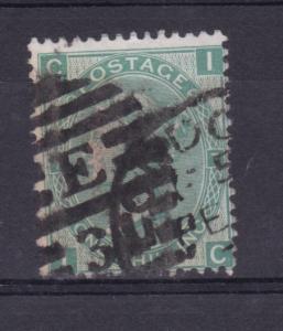 Königin Viktoria 1 Sh. Platte 7