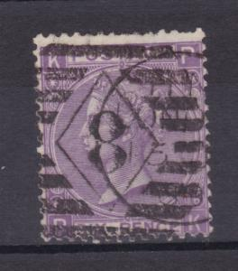 Königin Viktoria 6 P. Platte 6