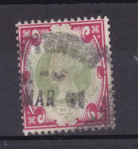 50. Regierungsjubiläum von Königin Victoria 1 Sh. 0