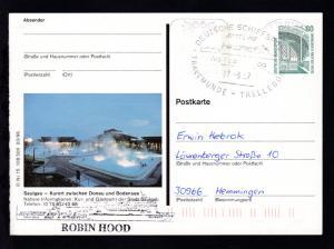 DEUTSCHE SCHIFFSPOST TT-Line MS Robin Hood TRAVEMÜNDE-TRELLEBORG 27.3.97 +