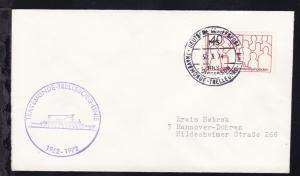 DEUTSCHE SCHIFFSPOST MS NILS HOLGERSSON TRAVEMÜNDE-TRELLEBORG-LINIE 30.3.74 +