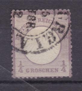 Adler mit kleinem Schild ¼  Gr.