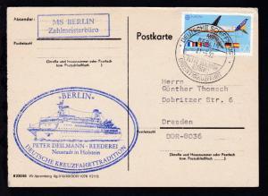 DEUTSCHE SCHIFFSPOST MS BERLIN PETER DEILMANN REEDEREI  ORIENTKREUZFAHRT