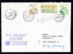 hs Paquebot + OSt. La Rochelle 23.2.1981 + L2 M.S.