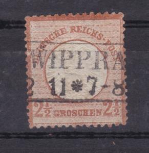 Adler mit großem Schild 2½ Gr. mit R2 WIPPRA 2.11.