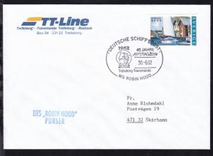 DEUTSCHE SCHIFFSPOST 1962 2002 40 JAHRE TT-Line Trelleborg-Travemünde