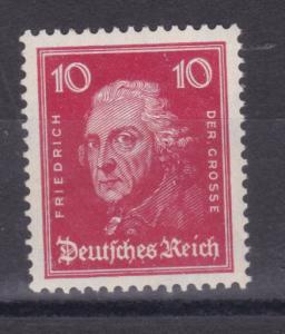 Berühmte Deutsche 10 Pfg. Friedrich der Große, **