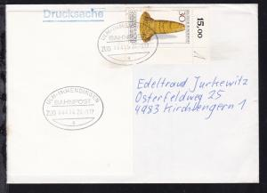 ULM-IMMENDINGEN BAHNPOST a ZUG 06414 24.9.77 auf Brief