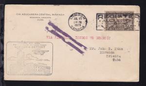 Ertsflugbrief London (Canada)-Detroit (USA) ab London Canada  JUL 15 1929