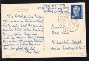 EBERSWALDE-FRANKFURT (ODER) Z. 451 11.8.53 auf AK (Bad Freienwalde
