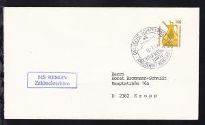 DEUTSCHE SCHIFFSPOST MS BERLIN PETER DEILMANN REEDEREI KREUZFAHRT INDISCHER