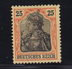 Germania 25 Pfg., *