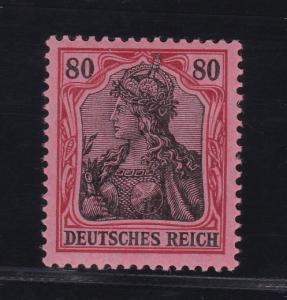 Germania 80 Pfg. Friedensdruck, **