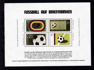 Fussball auf Briefmarken Entwürfe aus dem Wettbewerb Junger Künstler zur