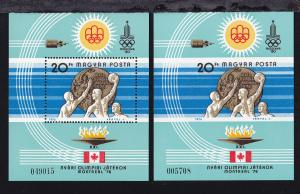Ungarische Medaillengewinner bei den Olympischen Sommerspielen in Montreal,