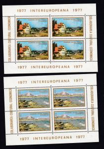 INTEREUROPA 1977, Blockpaar **