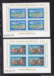 INTEREUROPA 1979, Blockpaar **