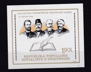 100 Jahre Gesellschaft für albanische Literatur, Block **