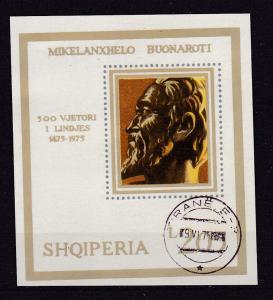 500. Geburtstag von Michelangelo Buonarroti, Block