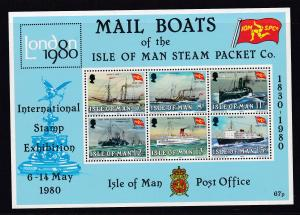 150 Jahre lsle of Man Steam Packet Company, Block **