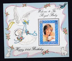 21. Geburtstag der Prinzessin Diana; Geburt von Prinz William von Wales,