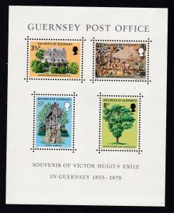 Exil Victor Hugos auf Guernsey, Block **