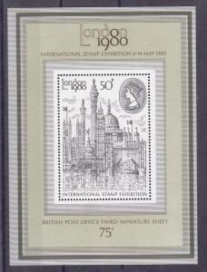 Internationale Briefmarkenausstellung LONDON 1980, Block **