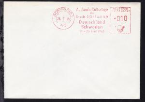 Dortmund AFS DORTMUND 1 46 26.5.65 Auslands-Kulturtage der Stadt DORTMUND