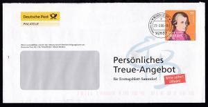 Mozart Persönliches Treueangebot für Ersttagsblatt-Sammler!,