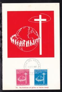3. Weltkongress des Laien-Apostolates in Rom auf Maximumkarte