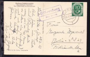 OSt. Pegnitz 03.3.53 + R2 Elbersberg über Pegnitz auf AK