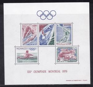 Olympische Sommerspiele Montreal 1976, Block **