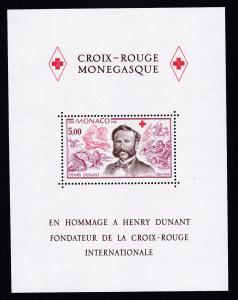 150. Geburtstag von Henri Dunant, Block **