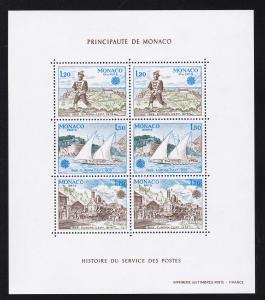 Europa 1979 Geschichte des Post- und Fernmeldewesens, Block **