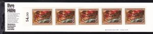 1. Weihnachts-Briefmarkenheftchen des Deutschen Roten Kreuzes