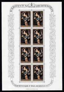 400. Geburtstag von Peter Paul Rubens Kleinbogensatz **