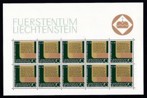 50 Jahre Neue Verfassung Kleinbogensatz **