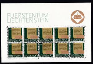 50 Jahre Neue Verfassung Kleinbogensatz
