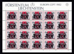 Europa 1982 Historische Ereignisse, Bogensatz **