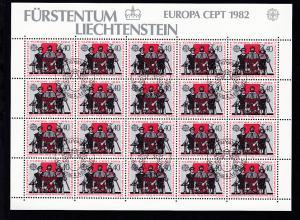 Europa 1982 Historische Ereignisse, Bogensatz