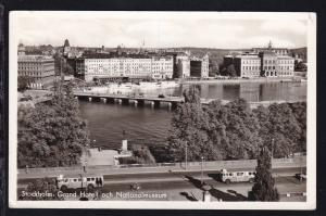 Stockholm Grand-Hotel und Nationalmuseum